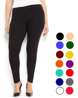 Universal Celana Legging Polos Panjang Hitam Ukuran Standart dan jumbo