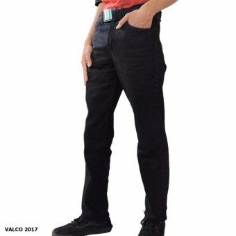 Valco Celana Jeans HDM Slimfit/Pencil Pria - Hitam