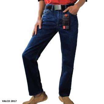 Valco Celana Jeans Magisa Reguler Pria - Biru Gelap
