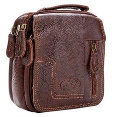 New Men's Genuine Leather Briefcase Business Messenger Shoulder Bag