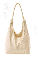 Shoulder Bag Messenger Women Korean Check Synthetic Leather Handbag Purse