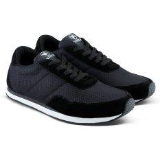 Varka V094 Sepatu Sneaker Olahraga Lari dan Joging - Hitam