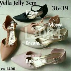 Vella Jelly Shoes - Warna Mocca Tua