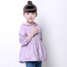 Versi Korea dari gadis anak gadis mantel (Violet)
