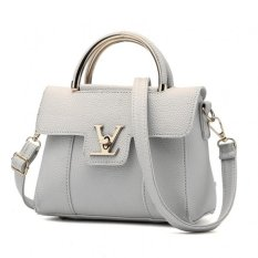 Vicria Tas Branded Wanita - Korean High Quality Bag Style - GREY