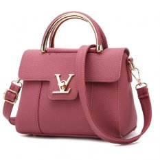 Vicria Tas Branded Wanita - Korean High Quality Bag Style - PINK
