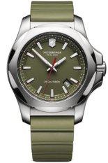 Victorinox Swiss Army Jam Tangan Premium - Hijau - Strap Rubber - VSA2416 Inox