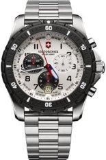 Victorinox Swiss Army Jam Tangan Premium - Silver - Stainless Steel - VSA2416 Maverick