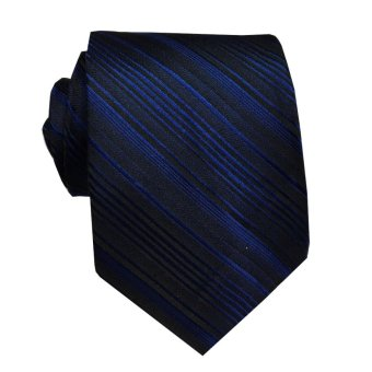 VM Dasi Fashion Slim Biru Navy - Navy Blue Ties