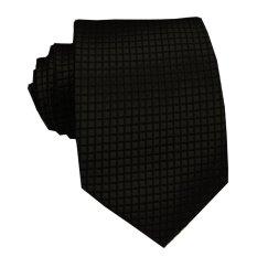 VM Dasi Fashion Slim Hitam Polos Corak - Slim Tie