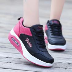 Wanita Fashion Sneakers Kasual Olahraga Sepatu Running Sepatu Berjalan Sepatu Fashion Sneakers Casual Sports Shoes Running Shoes Black