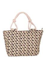 Win8Fong Women's Animal Printing Canvas Handbag Shoulder Bag Purse Tote Multicolor (Intl)