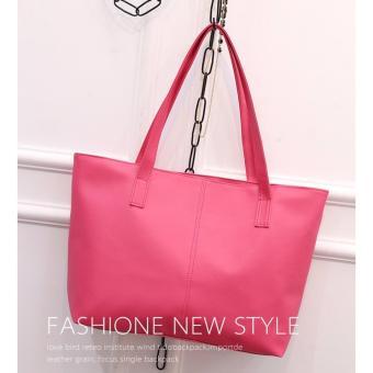 Dapatkan Tas Korea Mode Fashion Pu Leather Tote Shoulder Handbag Source · Women s Fashion PU