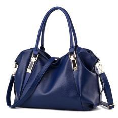 Women's Fashion Handbag Classic Europe Style PU Leather Soft Handbag Three Devision Inside Mature OL Ladies Bag Useful Designer Handbag - Intl