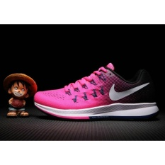 Women's Running Shoes For Air Zoom PEGASUS 33 Pink White - intl