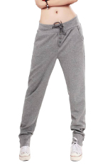 Women's Straight Sports Harem Pants Gray