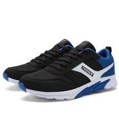 YINGLUNQISHI Men Flat Casual Sports Shoe J07 (Blue) - Intl