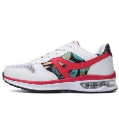 YINGLUNQISHI Men's Sporty Air Max Flat Runnning Shoes Lovers J32 (White) (Intl)