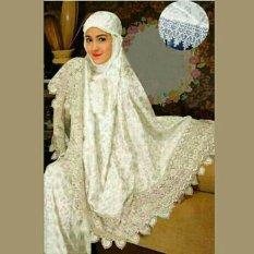 Yuki fashion Mukena Zaskiia - Putih