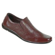 Zeintin Sepatu Kantor Pria CW34 - Coklat