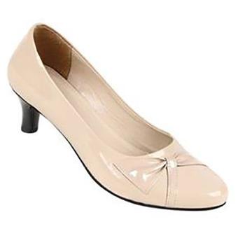 Zeintin Sepatu Kantor Wanita AX09 – Cream