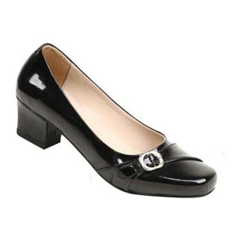 Zeintin Sepatu Kantor Wanita AX13 – Hitam