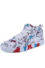 Znpnxn Canvas Men Fashion Sneakers with High Cut (White) (Intl)