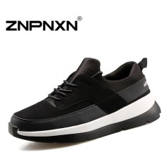 ZNPNXN Men's Fashion Casual Running Shoes Lovers Sports Shoes (Black / White) - Intl