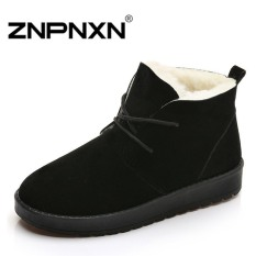 ZNPNXN Men's Fashion Loafers Shoes Lace-up Shoes Casual Men's Shoes Business Shoes Fashion Shoes (Black)