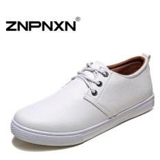 ZNPNXN Men's Fashion Loafers Shoes Slip-on Shoes Casual Men's Shoes Business Shoes Fashion Shoes (Black)