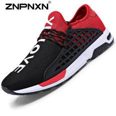 ZNPNXN Men's Sports Casual Shoes (Black / Red) - Intl
