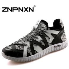 ZNPNXN Men's Sports Shoes Casual Shoes (Black) - Intl