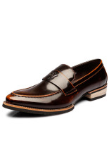 ZNPNXN Synthethic Leather Formal Shoes Men Derby & Oxfords (Brown) (Intl)