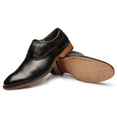 ZNPNXN Synthethic Leather Formal Shoes Men Loafers (Black) (Intl)