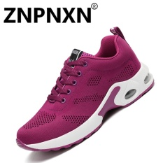 ZNPNXN Women 'S Sports Shoes Flying Sports Shoes To Increase Women' S Shoes Air Cushion Shoes(Purple) - intl