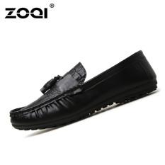 ZOQI Man's Formal Shoes Low Cut Shoes Individual Shoes (Black) - Intl
