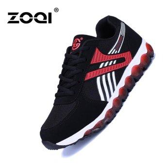 ZOQI Men's And Women's Fashion Sneaker Casual Shoes Sport Shoes Running Shoes (Red) -