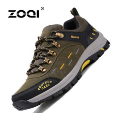 ZOQI Summer Man's Fashion Sneakers Outdoor Sport Casual Breathable Comfortable Shoes (Army Green) - Intl