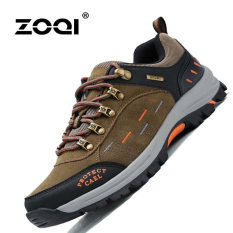 ZOQI Summer Man's Fashion Sneakers Outdoor Sport Casual Breathable Comfortable Shoes (Khaki) - Intl