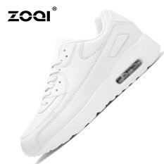 ZOQI Summer Man's Fashion Sneakers Sport Casual Breathable Comfortable Shoes-White