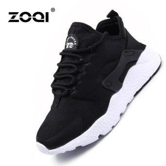 ZOQI Women's Fashion Breathable Running Shoes(Black) - intl