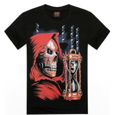 ZUNCLE Men's 3D T Shirt Cotton Men Short Sleeve Printed Men Casual T Shirt Male Creative Designed (D0000014E33) (Intl)