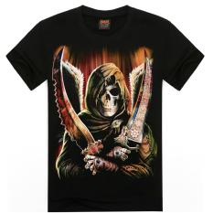 ZUNCLE Men's 3D T Shirt Cotton Men Short Sleeve Printed Men Casual T Shirt Male Creative Designed (D0000021) (Intl)