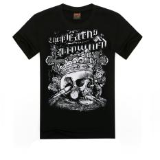 ZUNCLE Men's 3D T Shirt Cotton Men Short Sleeve Printed Men Casual T Shirt Male Creative Designed (D0000041) (Intl)