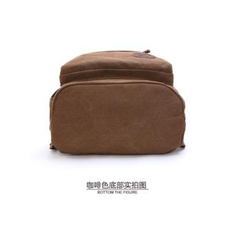 Zuo Lun Duo Tas Ransel Kanvas Premium Quality TR000671 Coklat. Rp. 370.000 86cc1187f2954