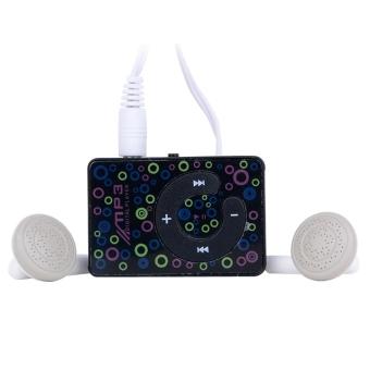 8 GB Mini Clip USB MP3 Music Media Player With Micro TF / SD Card