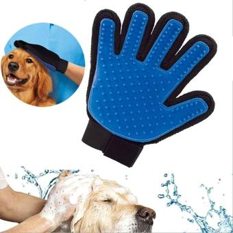 1 Pcs Pet Cleaning Hair Removal Grooming Brush Glove - intl