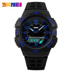 [100% Genuine] New Mens Watches Top Brand Luxury Analog Digital Watch 50M Waterproof Multifuntion Outdoor Sport Watches SKMEI - Intl
