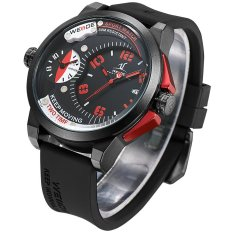 [100% Genuine] WEIDE Luxury Brand Men Military Sports Watches Men's Quartz Wristwatches Hour Clock Male Fashion Casual Watch UV1501 - Intl
