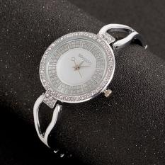 10pcs * Luxury lady diamond chain watch watches quartz watches accessories wholesale diamond temperamentThe gold watch Black Black - intl